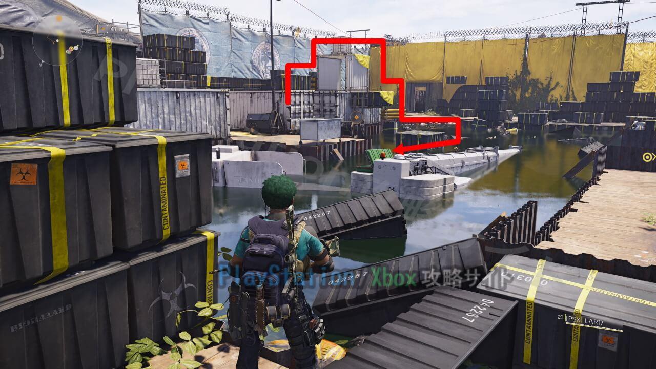 ディビジョン2 ドローン墜落現場 武器箱の取り方