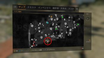 ミステリアスな箱1の地図