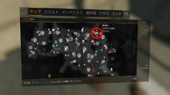 ミステリアスな箱2の地図