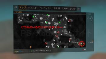 ミステリアスな箱5の地図