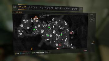 特殊な軍用物資4の地図