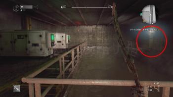 設計図「恐怖のホームラン」がある部屋の入り口