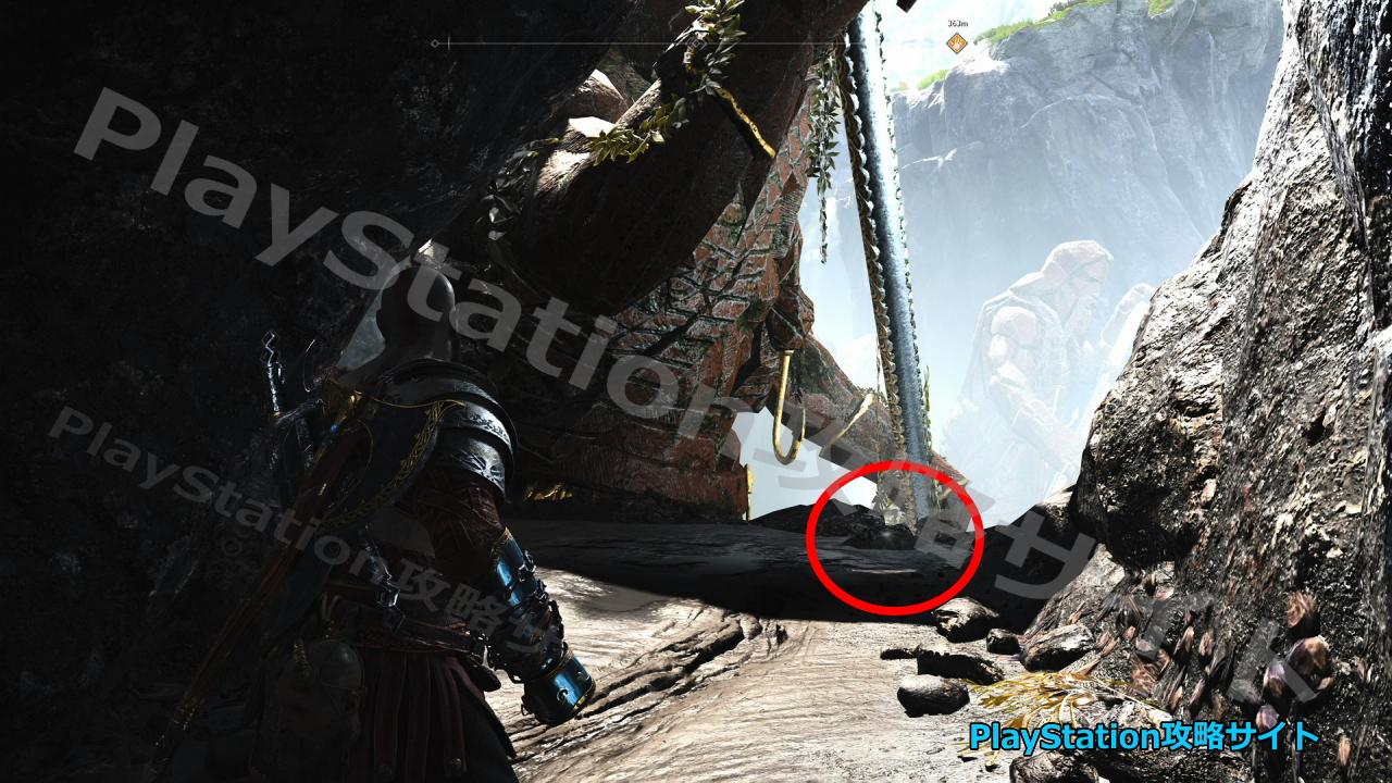 PS4 ゴッド・オブ・ウォー 宝の地図 ニョルズの漕ぎ手 宝の場所