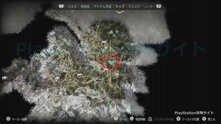 狩場:ノラ クエスト発生場所