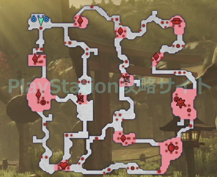 英雄たちの熱き模擬戦 マップ