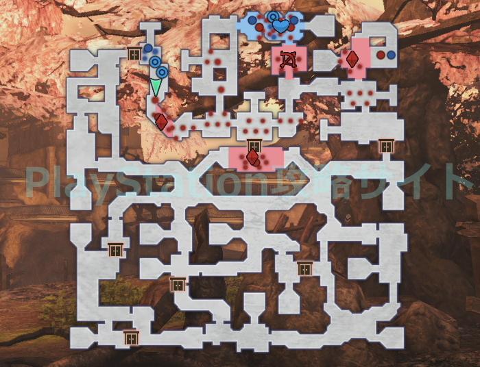 日の本一の兵 マップ