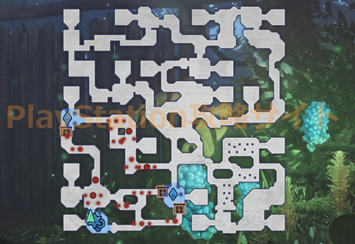 カラクリの勇者 マップ