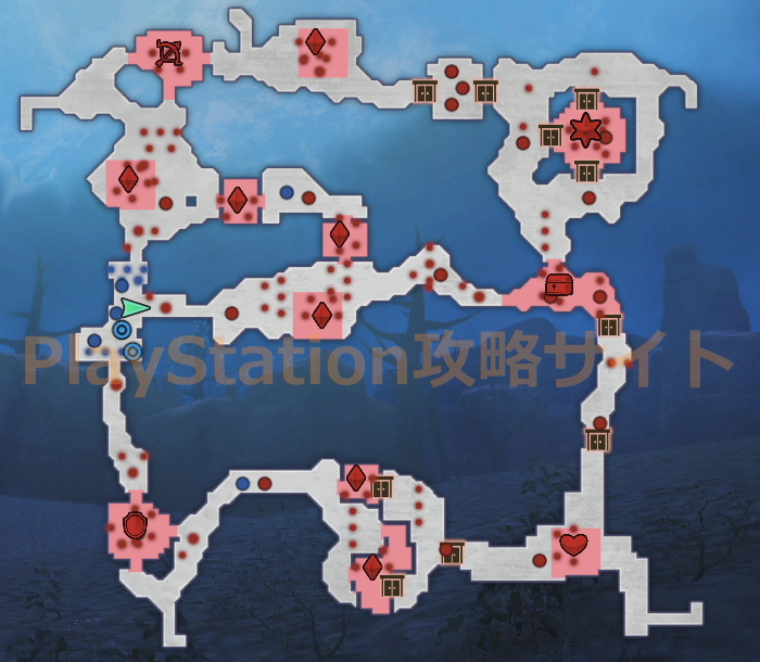活眼の美姫 マップ