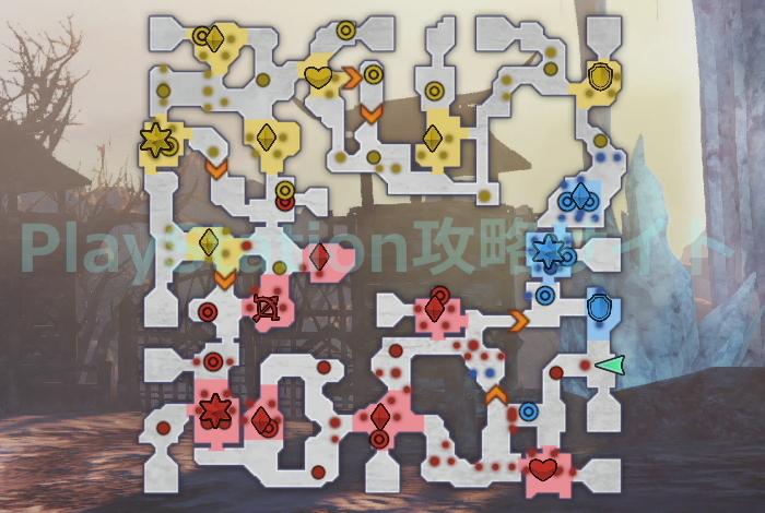 決戦 王への道 マップ