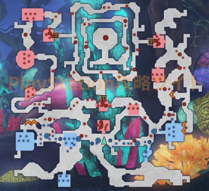 強大なる魔物 マップ