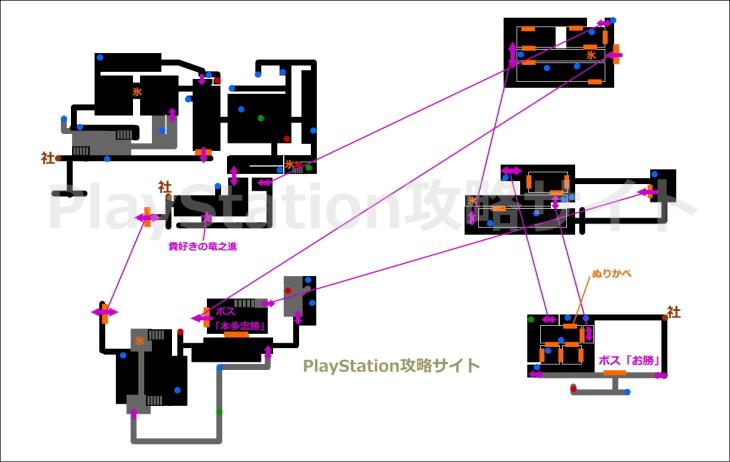 仁王 穢土の城 マップ2