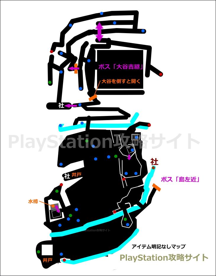 仁王 関ヶ原 マップ