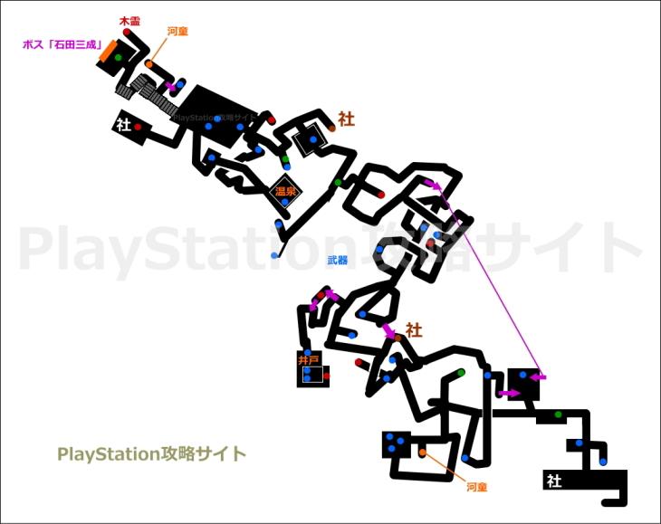 仁王 穢れし霊峰 マップ2