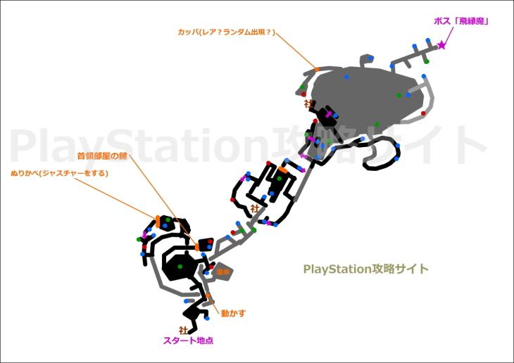 仁王 闇の奥 マップ2