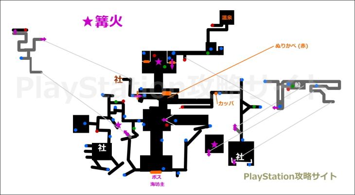 仁王 厳島神社 マップ