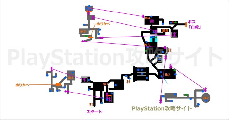 仁王 比叡山の魔 マップ2