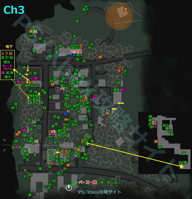 サイコブレイク2、チャプター3のアイテム