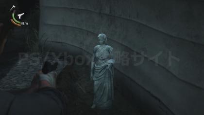 サイコブレイク2、鍵の入っている女神像