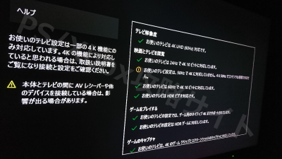 REGZA Z20X XboxOneX 4kHDRケーブルチェック