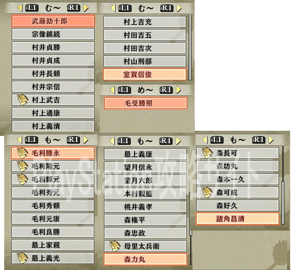 戦国無双4 無双演武「流浪演武」 -PlayStation攻略サイト-