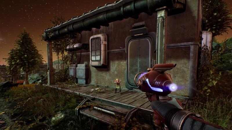 アウターワールド ユニーク武器 シュリンクレイ 効果2