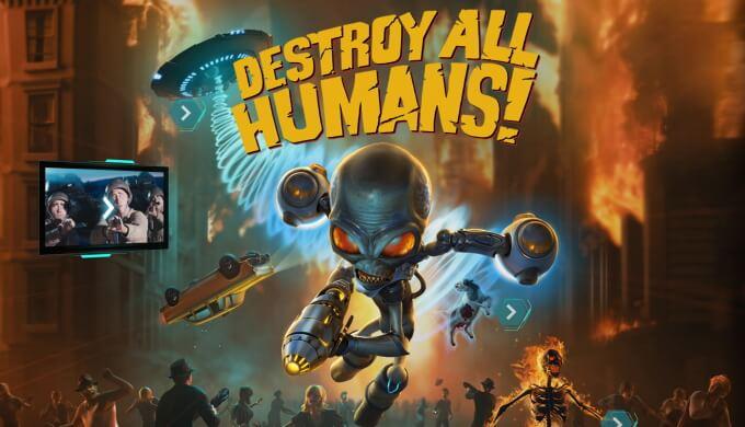 Destroy All Humans! 動画 まとめ