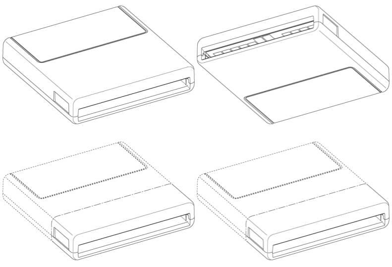 PS5 SSDカートリッジ 意匠登録