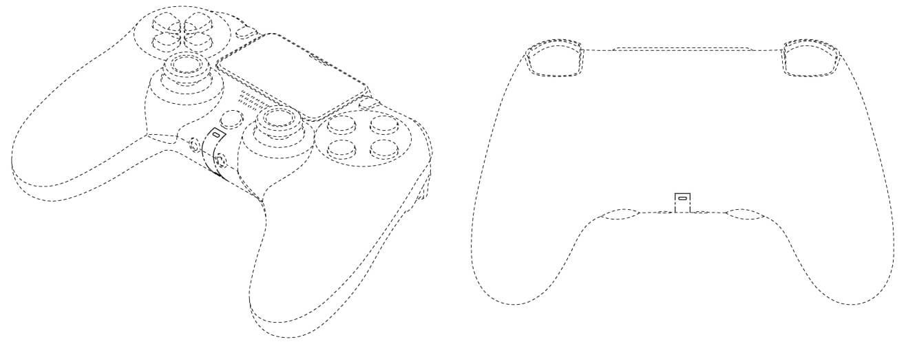 PS5 コントローラー 意匠登録
