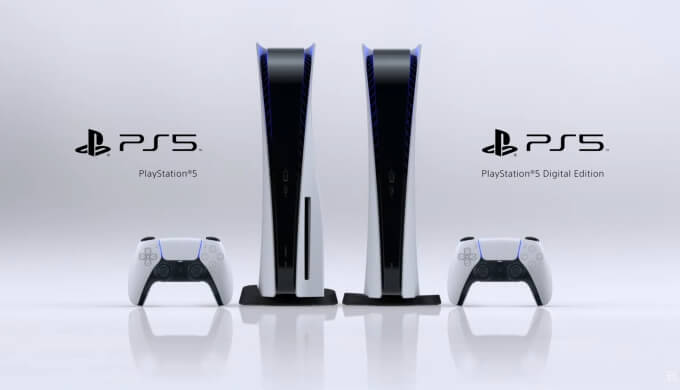 PS5 2種類の本体初公開